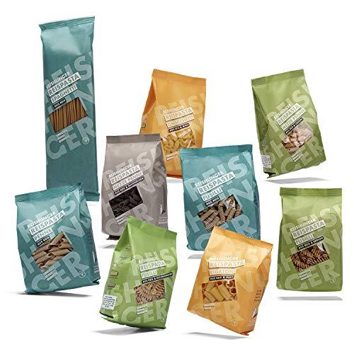 Reishunger Reispasta 9er Set – Glutenfreie Italienische Nudeln aus Reis, Mais, Linse, Erbse,...