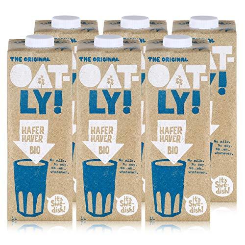 Oatly - Haferdrink Bio - Packung mit 6 (6 x 1 Liter)